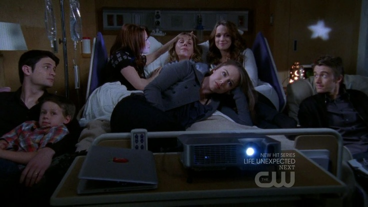 Lydia is dying:Nathan,Jamie,Haley,Lydia James,Quinn,Taylor and Clay..All at the Hospital well Taylor,Quinn,and Haley's mother is dying