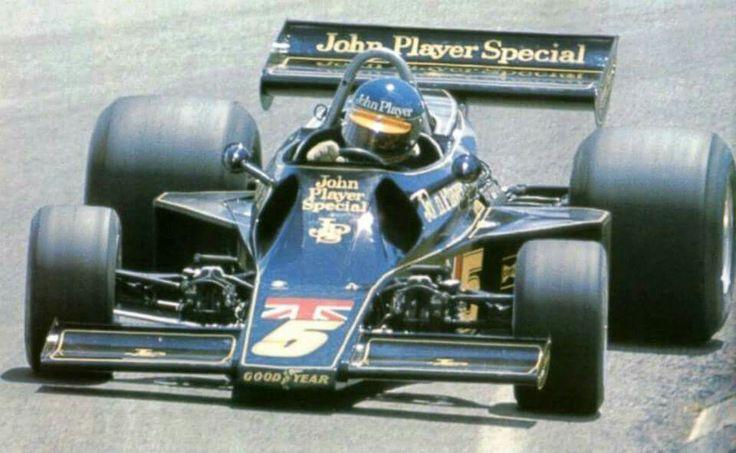 Ronnie ! LOTUS 77 Brazil 1976