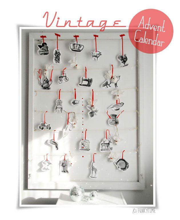 Isn't it an adorable advent calendar? Sibylle is amazing! Μετράμε μέρες ανά ποδα για τα Χρ...