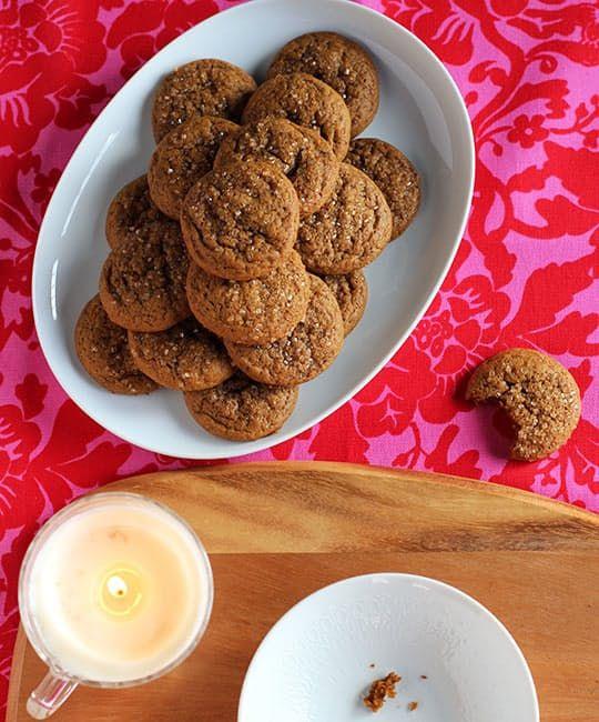 Gingerbread Cake Cookies