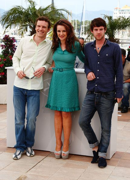 """Harry Treadaway and Michael Fassbender Photos Photos - (L-R) Actor Michael Fassbender, actress Kierston Wareing and actor Harry Treadaway attend the """"Fish Tank"""" Photocall held at the Palais Des Festival during the 62nd International Cannes Film Festival on May 14, 2009 in Cannes,France.  (Photo by Gareth Cattermole/Getty Images) * Local Caption * Michael Fassbender;Kierston Wareing;Harry Treadaway - Fish Tank Photocall - 2009 Cannes Film Festival"""