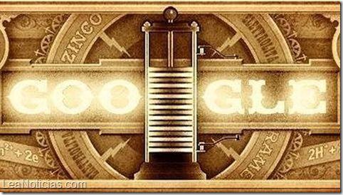 Alessandro Volta: 270 años del nacimiento del creador de la pila voltaica - http://www.leanoticias.com/2015/02/18/alessandro-volta-270-anos-del-nacimiento-del-creador-de-la-pila-voltaica/