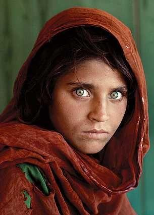 Los colores de ojos mas raros del mundo