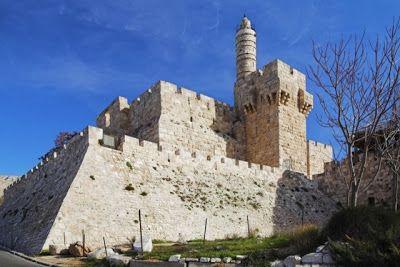 Murallas y Torre de David del blog Guias de Viaje http://www.guiasdeviajeonline.com