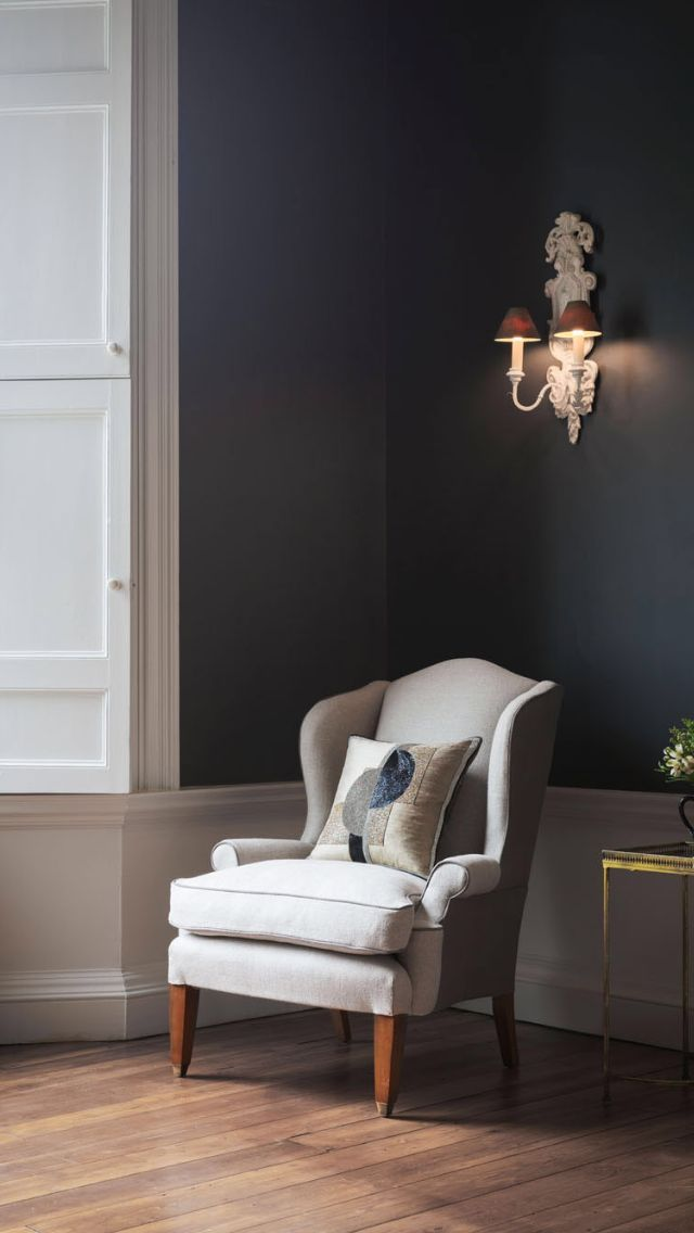 Beautifully supportive and well proportioned, this classic wing chair combines Georgian elegance and supreme comfort.