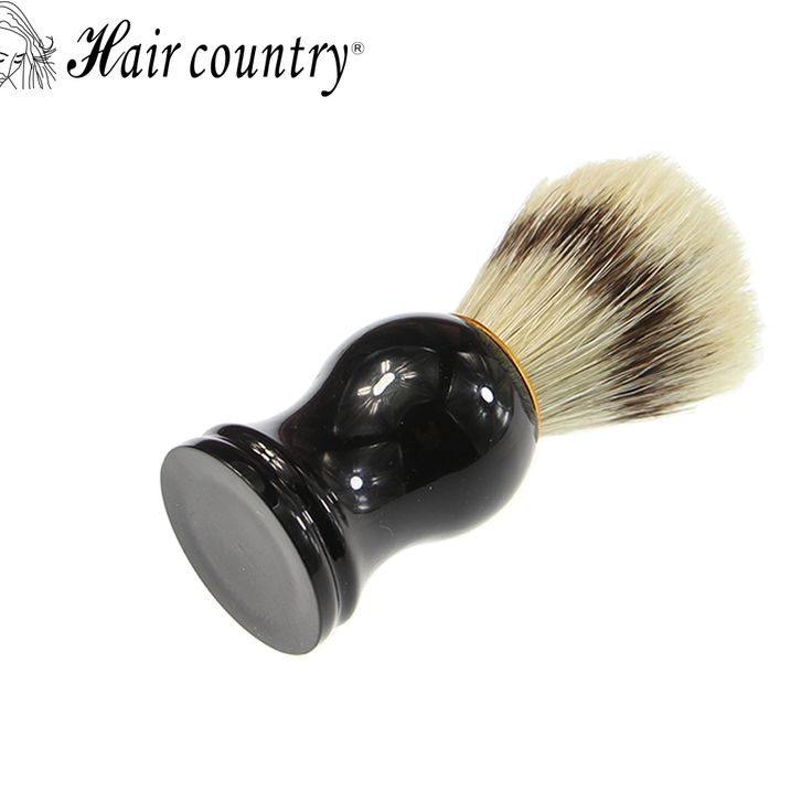 Hair Country High Quality Men Shaving Brush Pure Badger Brushes Barbear Resin Handle Brocha Hair Knot Beard Brush for Mens Bear //Price: $US $6.18 & FREE Shipping //     #cosmetics