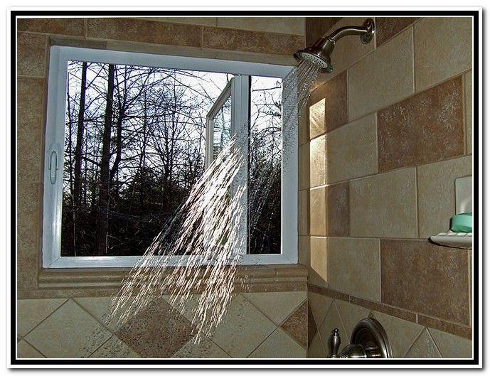 Window In Shower Ideas