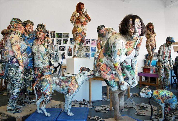 realizado con periódicos reciclados Blog Medioambiente.org Allpe Medio Ambiente: Reciclaje
