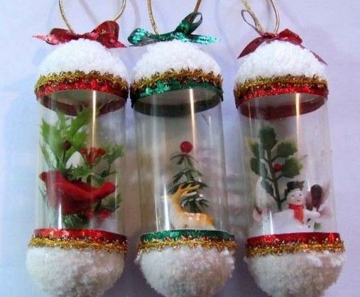 Simple handmade Christmas crafts photos