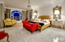 Fit for royalty - The master bedroom at Villa Eight   Bantry Bay