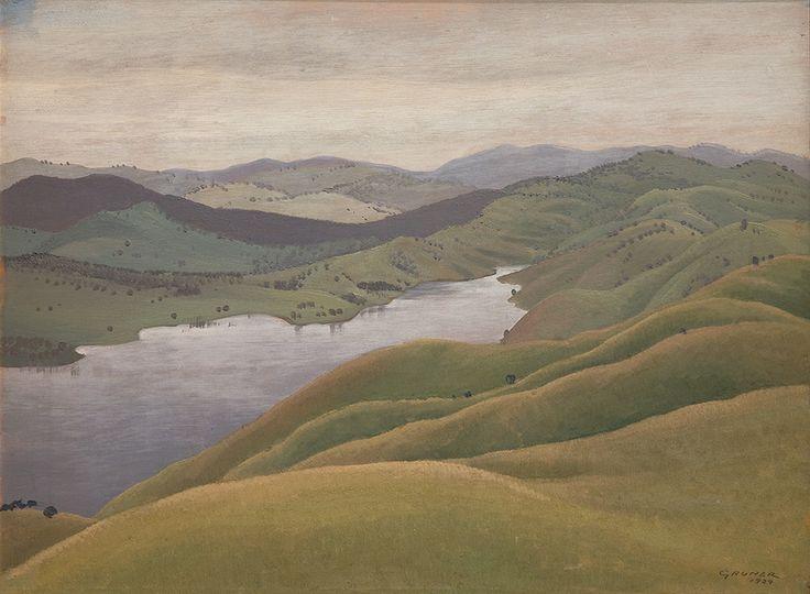Elioth Gruner: the texture of light