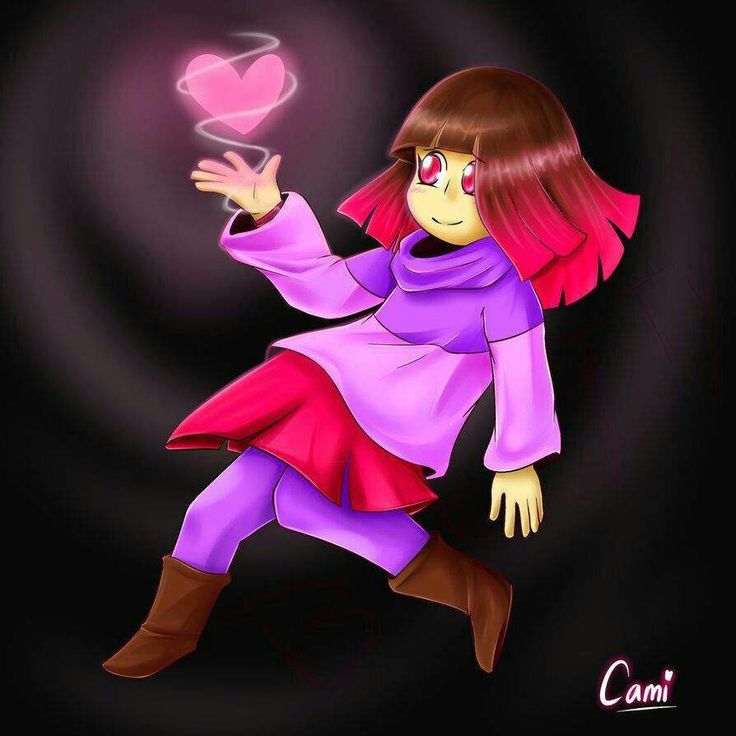 What Does the Pink Soul Mean???   Undertale Amino