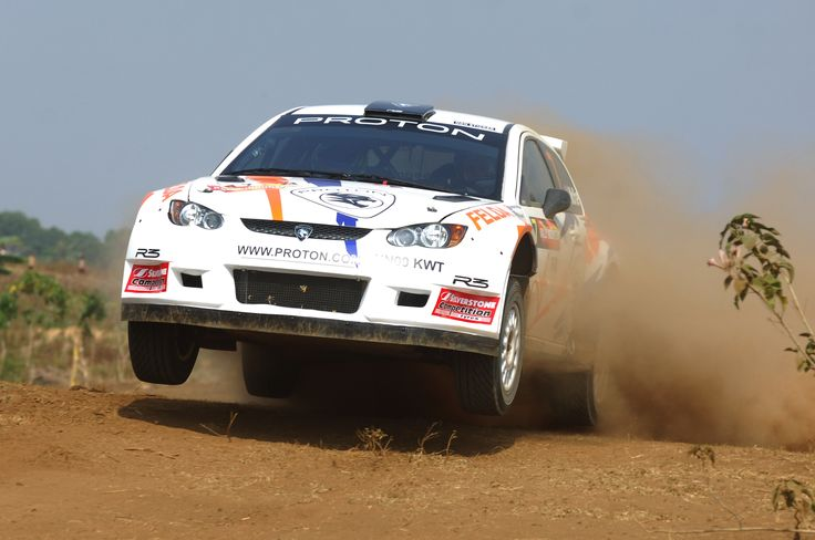 First appearance of Alister McRae in the Proton Satria - 2009 Rally Of Indonesia