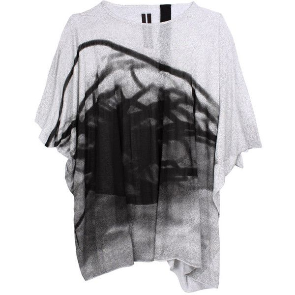 DRKSHDW by Rick Owens | Oversized Tee with Print