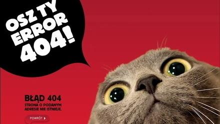 Polskie strony błędu #404 - cz. 2