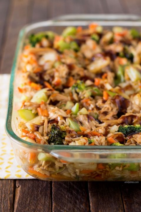 Teriyaki Chicken and Rice Casserole. 7 points +