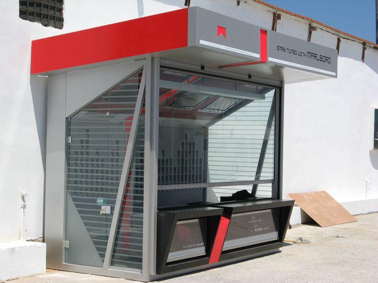 Marlboro kiosk Paradiso club Rhodes