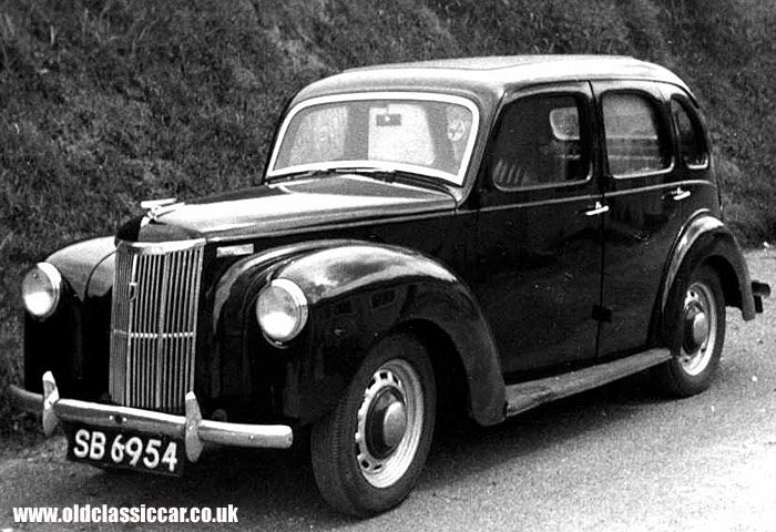 Ford Prefect… you could order in any colour, so long as you wanted black… my dad had one of these...great until you got to places like Porlock Hill, (England)..then it would join all the other cars at the top, that had over heated...
