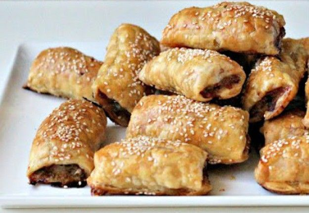 Lamb, mint and macadamia sausage rolls - Real Recipes from Mums
