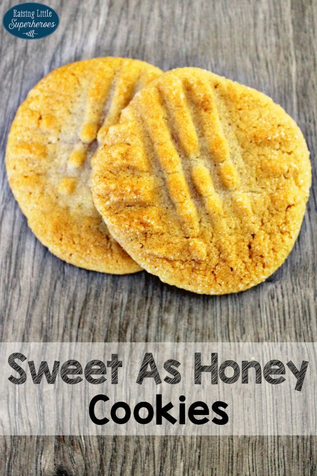 Honey Cookies | Recipe | Simple dessert recipes, Sweet and Cookie ...