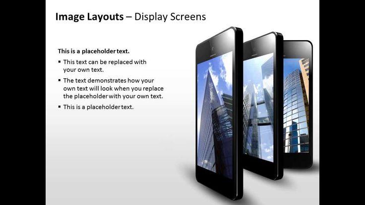 Anmierte Display Screens für PowerPoint Präsentationen