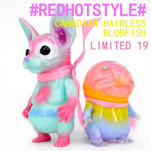 CANADIAN HAIRLESS and BLOBFISH Cotton Candy Edition By RED HOT STYLE | The Toy Chronicle