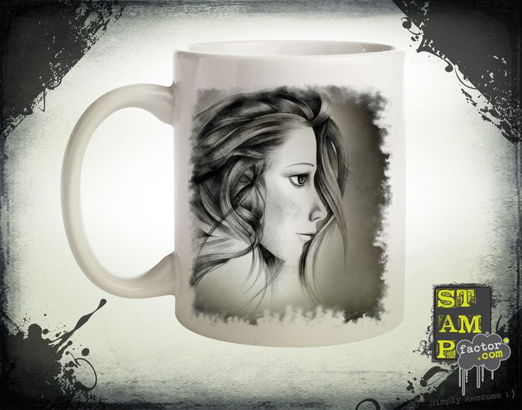Katy (Yellow Foggy Dream) 2015 Collection - © stampfactor.com *MUG PREVIEW*