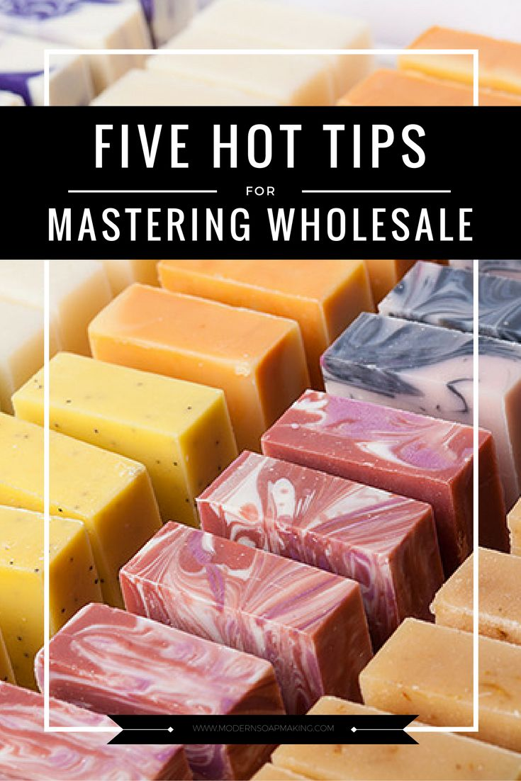 For a lot of soapmakers, wholesale sounds like a scary challenge. But it's not as hard or terrifying as it's made out to be! If you've decided to wholesale your soap, and have a good handle on what you need, the last thing you'll need to hit the road is a handful of my favorite tips for masterminding wholesale.