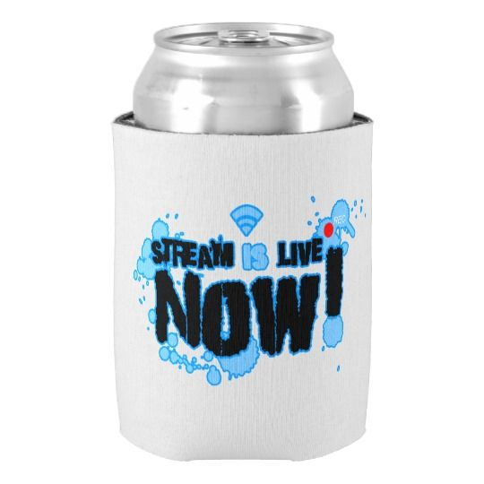 Stream Custom Can Cooler