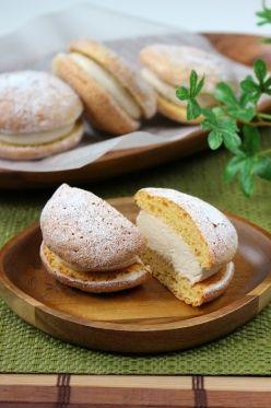 「グルテンフリー♪和ブッセ(大豆と米麹のスイーツ粉を使用)」ナナママちゃん | お菓子・パンのレシピや作り方【corecle*コレクル】