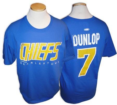 Slap Shot- Reg Dunlop T Shirt
