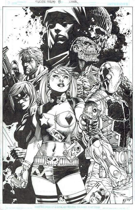 Suicide Squad by Jim Lee