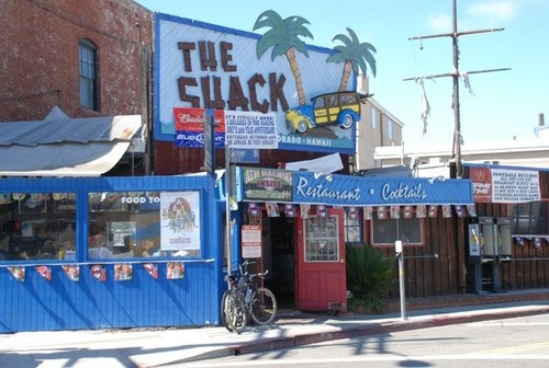 Come to a full stop when you reach The Shack in Playa del Rey