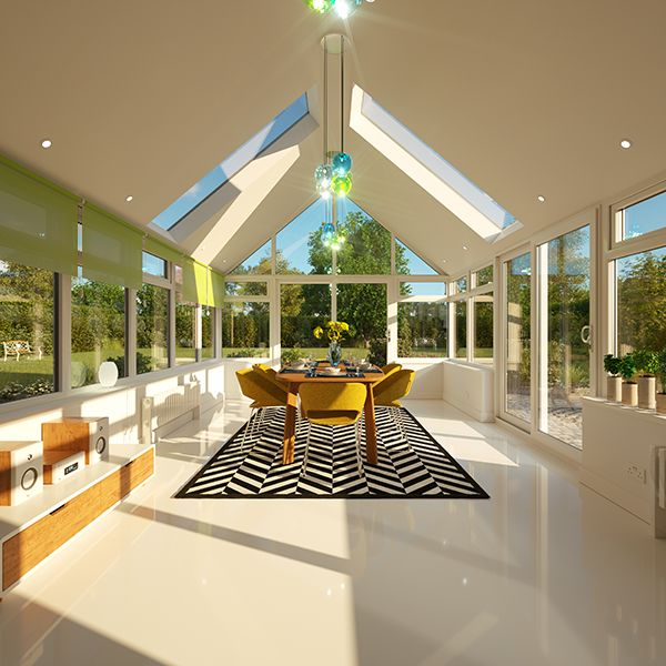 Equinox Tiled Conservatory Roof System | Eurocell in 2020 ...