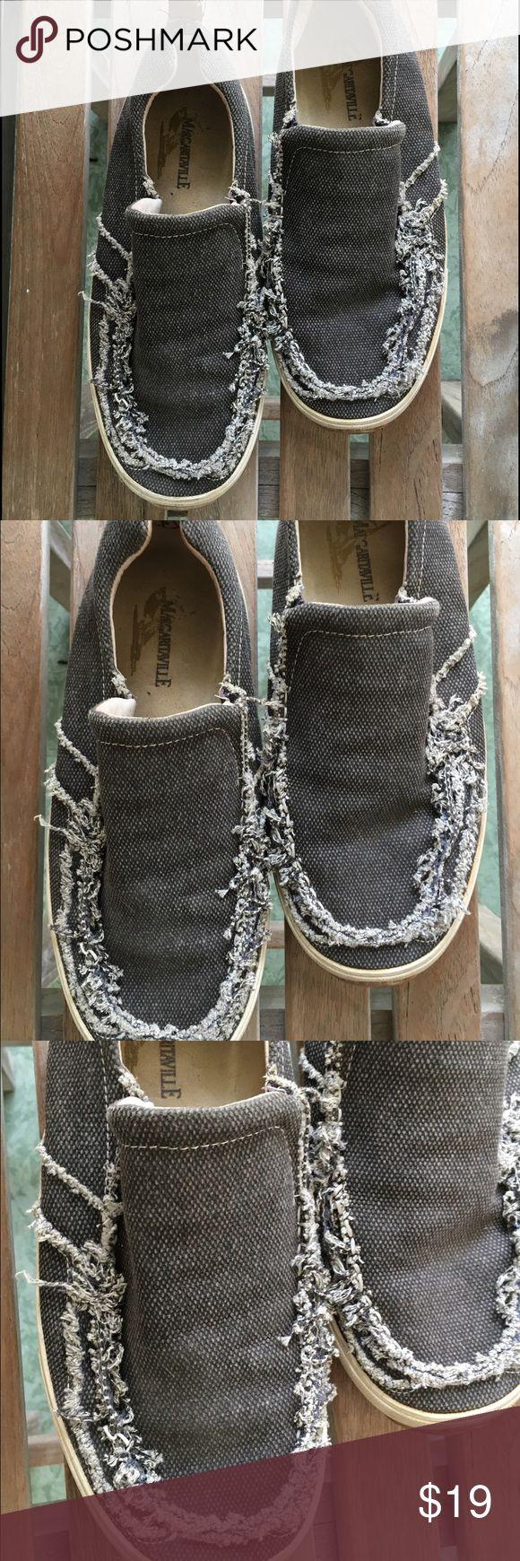 Margaritavile distressed men's slip on shoes Casual beach shoes margaritavile Shoes Loafers & Slip-Ons