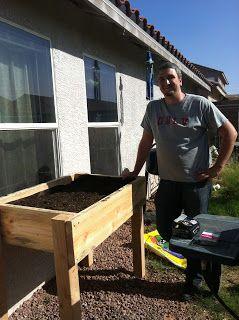 Called for Motherhood: DIY Elevated Garden Bed
