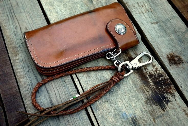 A well-worn Redmoon wallet.