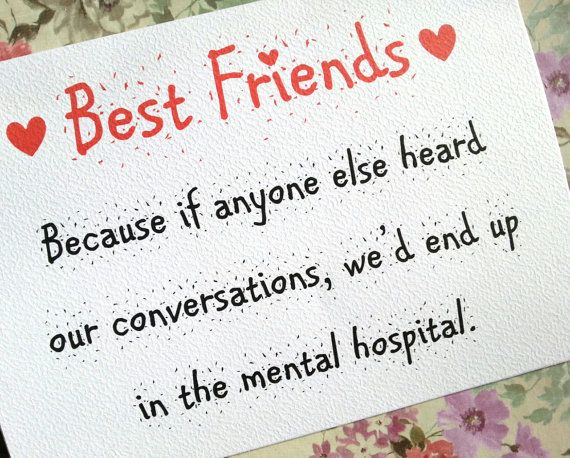 Hey, I found this really awesome Etsy listing at https://www.etsy.com/listing/166302125/best-friends-card