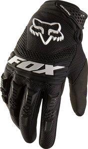 NEW 2013 FOX RACING MENS ADULT BMX MX ATV RIDING BLACK DIRTPAW RACE GLOVES GLOVE