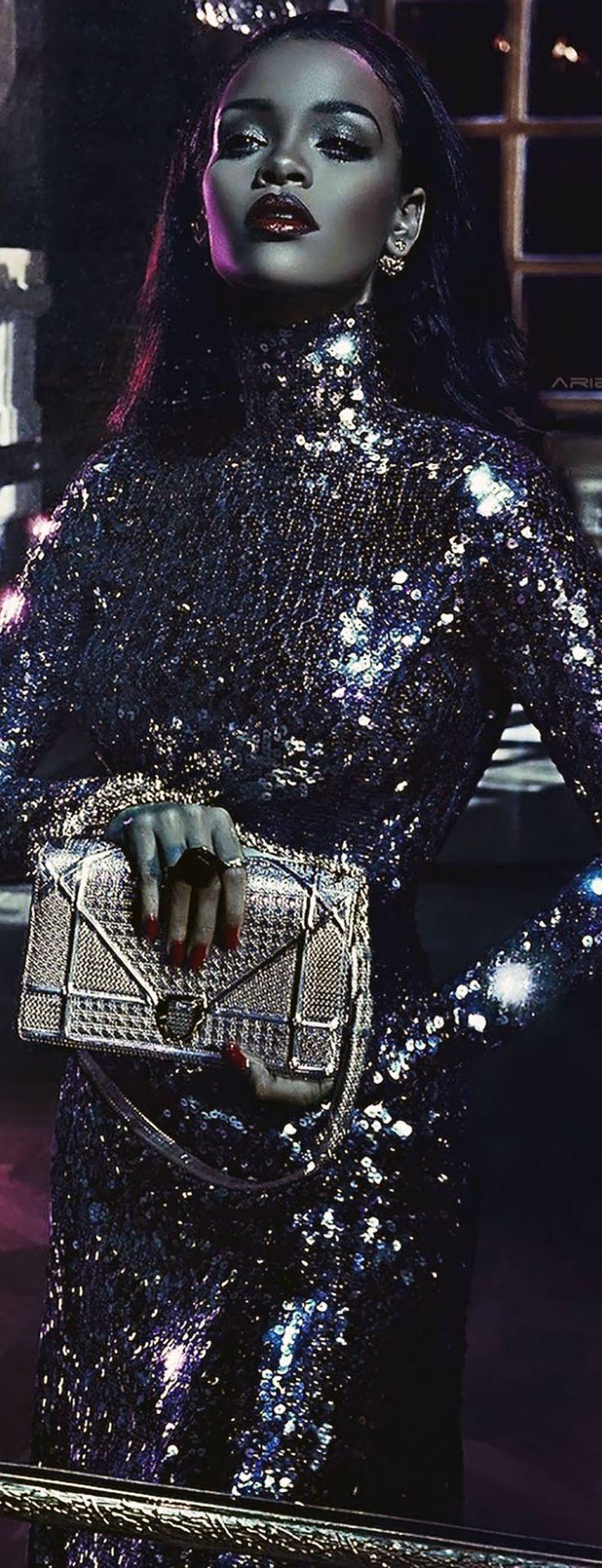 Dior Secret Garden 2015 Campaign featuring Rihanna photographed by Steven Klein | justjune