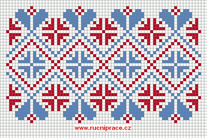 Free Norwegian Cross Stitch Patterns National Motives 10