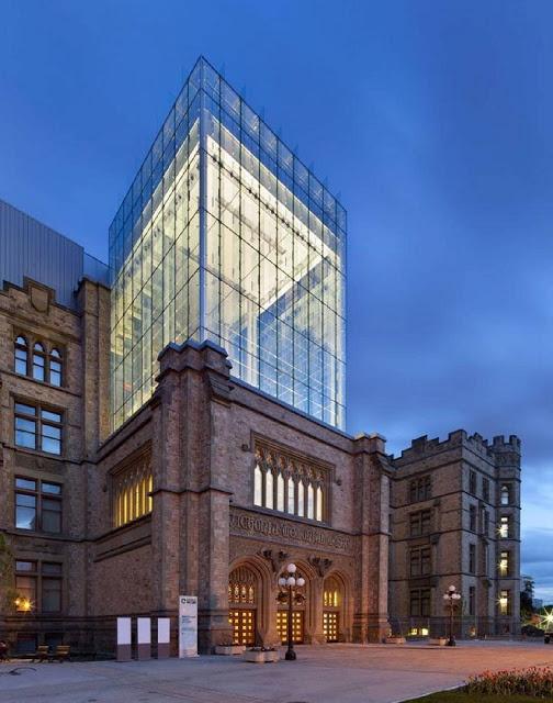 Bela integração de duas gerações de projetos CANADIAN MUSEUM OF NATURE BY KPMB ARCHITECTS