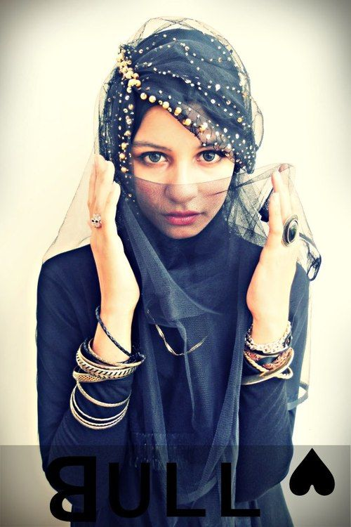 How elegant and pretty! #hijab