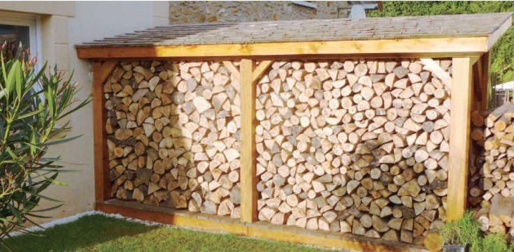 Red on pinterest - Rangement interieur bois de chauffage ...