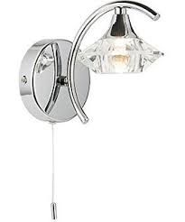 Image result for polished chrome wall lights