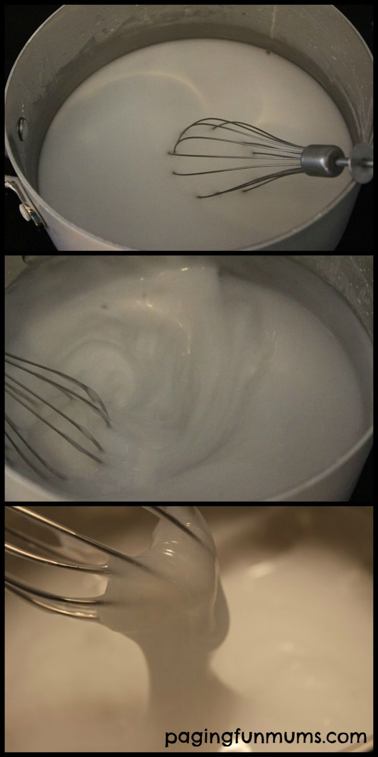Homemade Glue - Perfect for home paper crafts like Paper Mache and so easy to make with only 4 ingredients! Safe and edible too!