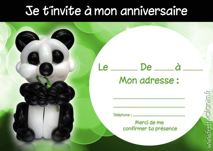 carte d invitation anniversaire ado gl37 montrealeast. Black Bedroom Furniture Sets. Home Design Ideas