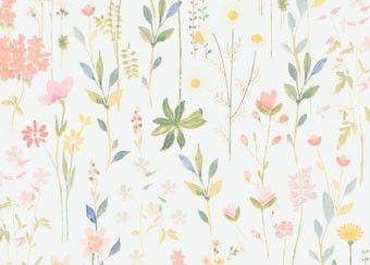 papier peint fleuri 'Field of flowers' Room Seven | shop pour enfants Le Petit Zèbre