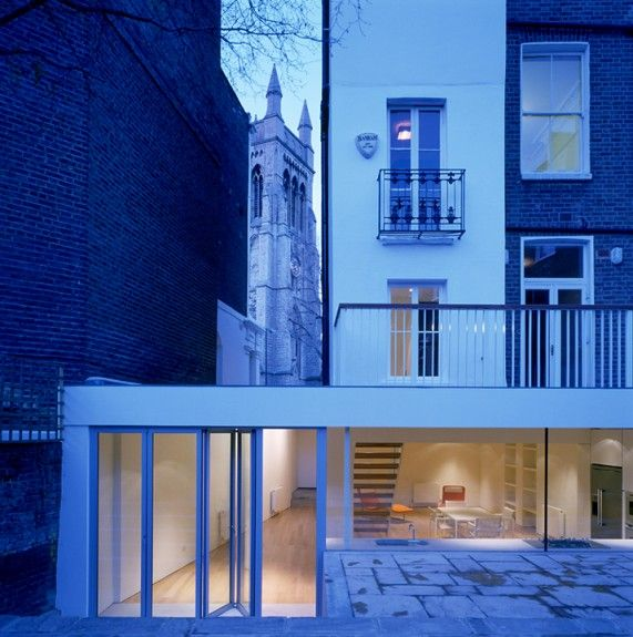 House Notting Hill London designed by Found Associates
