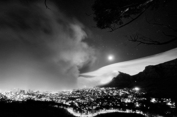Cape Town Tourists places Black and white photography